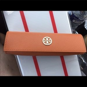 TORY BURCH small EYEGLASSES CASE 4 readers *NEW*